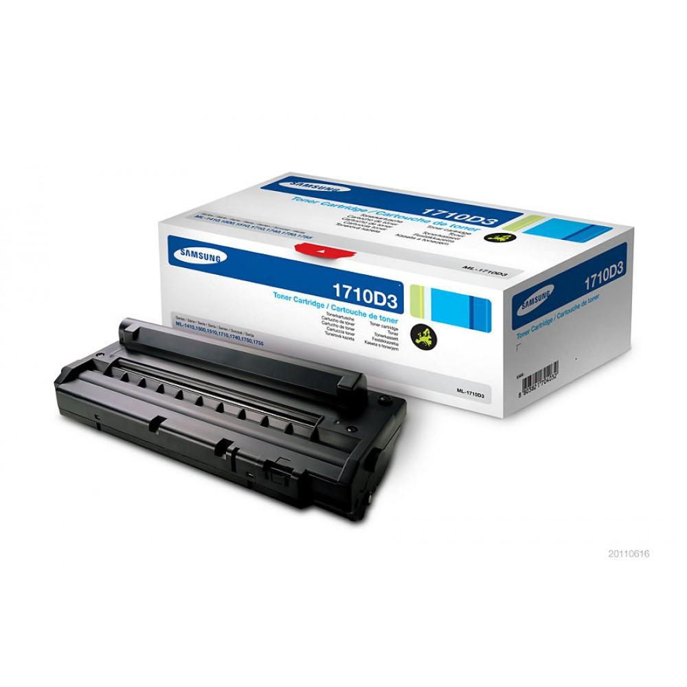 Заправка картриджа Samsung ML-1710D3 для принтеров Samsung ML-1510 / 1710 / 1750