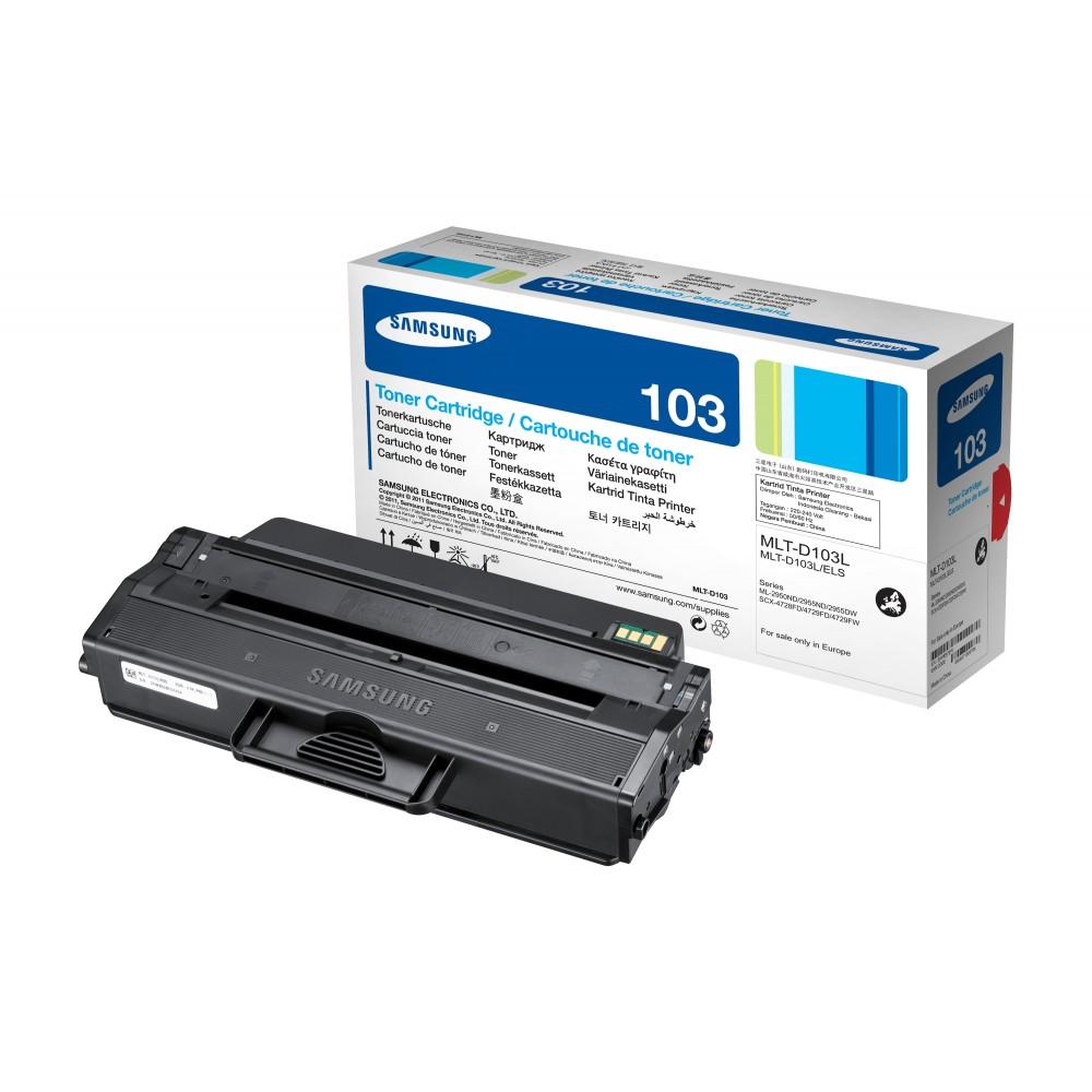 Заправка картриджа Samsung MLT-D103L для принтера Samsung SCX-4705 / 4727 / 4728 / 4729