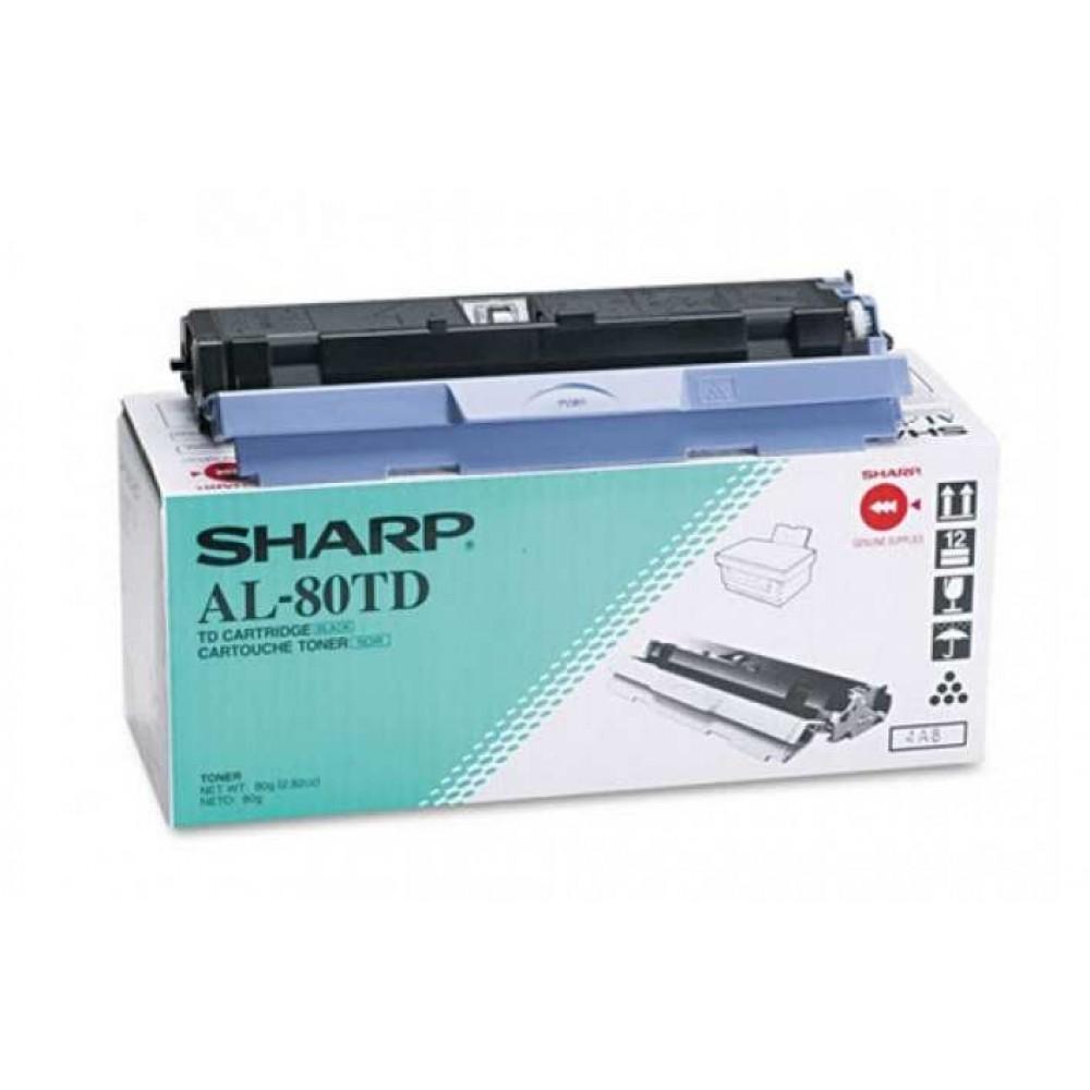 Заправка картриджа Sharp AL-80TD для принтера SHARP AL 800, AL 840