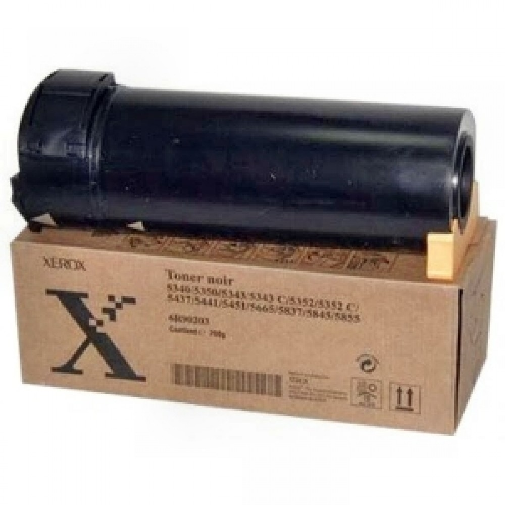 Заправка картриджа Xerox 006R90203 для принтеров Xerox 5340 / 5343 / 5330 / 5352 / 5437 / 5441