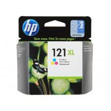 Струйный картридж HP 121XL (цветной, оригинальный)
